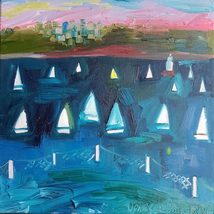 Twilight sailing, Nielsen Park. - Image 0