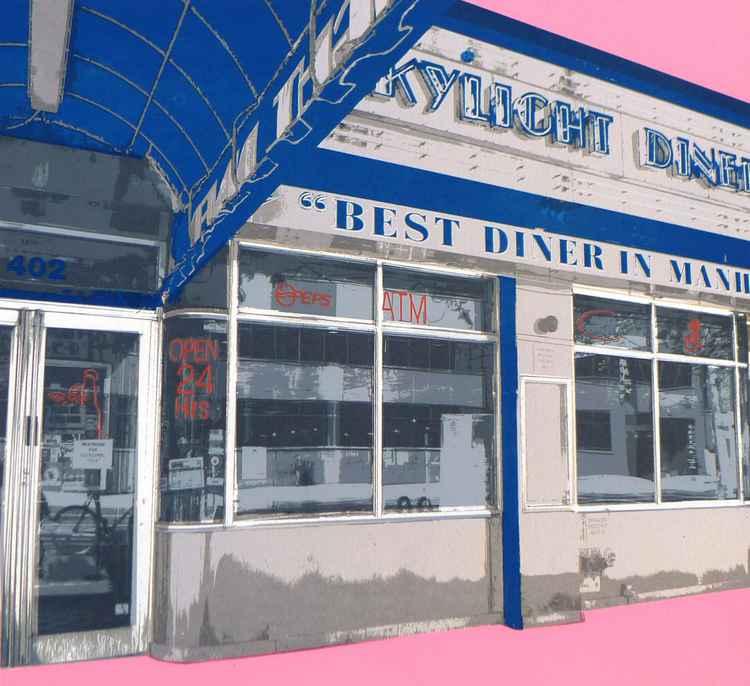Skylight Diner New Yotk