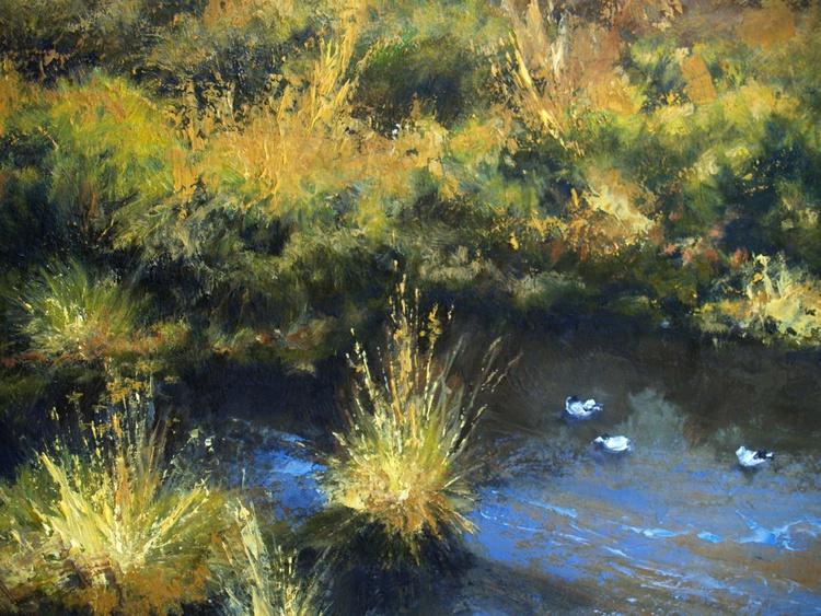 A Pond at Jackson Hole - Image 0