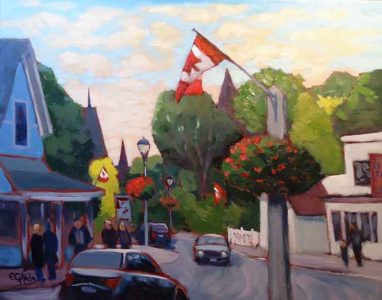 Main Street, Unionville, Ontario, Canada -