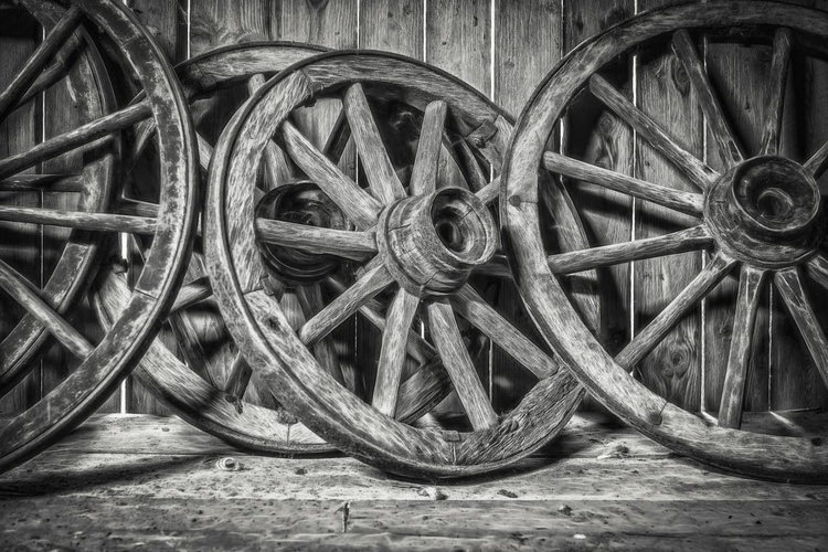 Old Wooden Wheels - Image 0