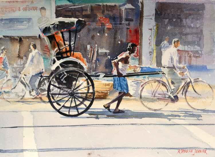 The Rickshaw Puller -
