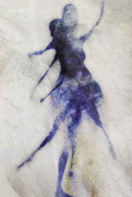 La Jeune Fille en bleue.... -