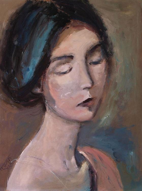 Spring flower ~ woman portrait, figure study - Image 0