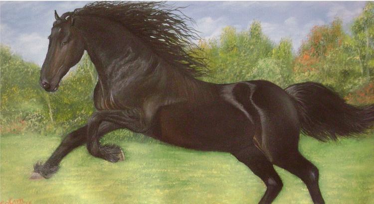Running Horse - Image 0