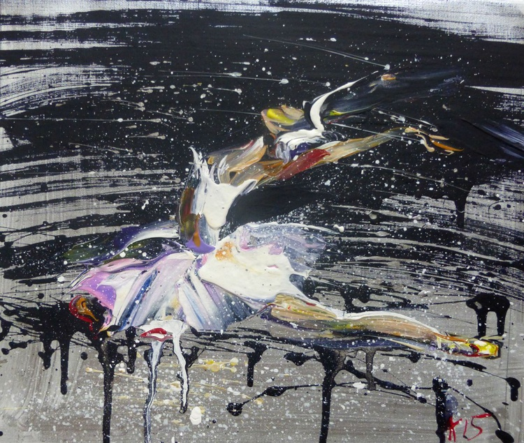Ballerina, 35x30 cm - Image 0