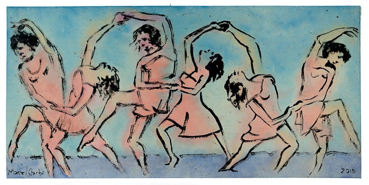 Dancers by the Sea - Image 0