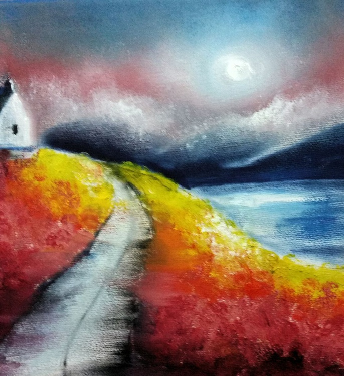 Road through the lochs. - Image 0