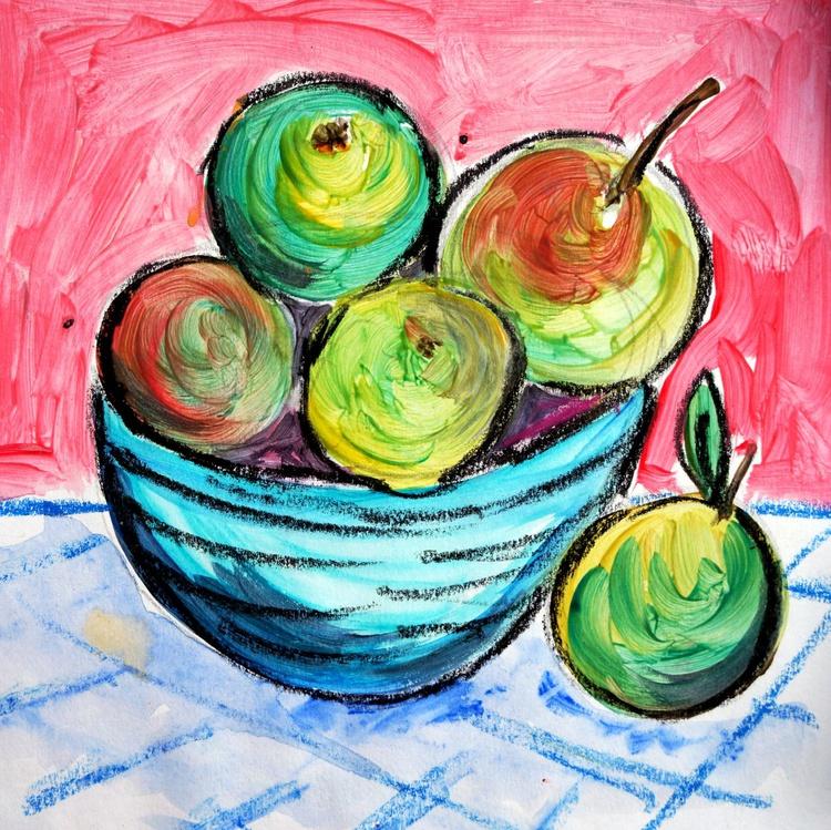 Little bowl of fruit - Image 0