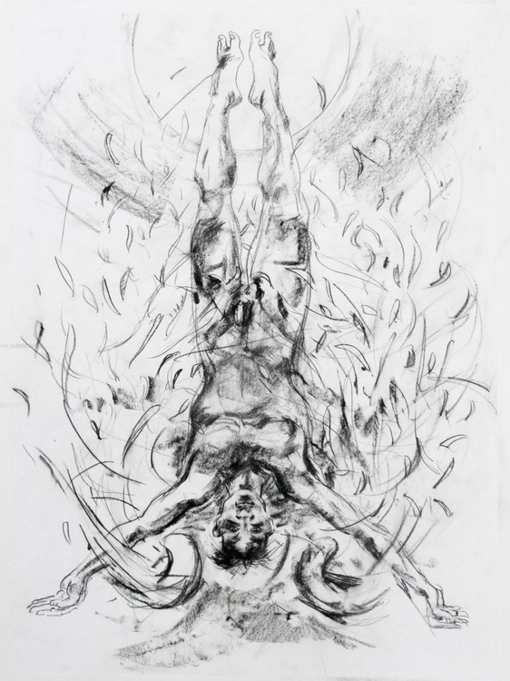 Preparatory Drawing for Icarus - Image 0