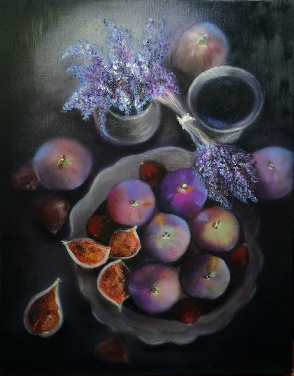 Figs and Lavenders - Image 0
