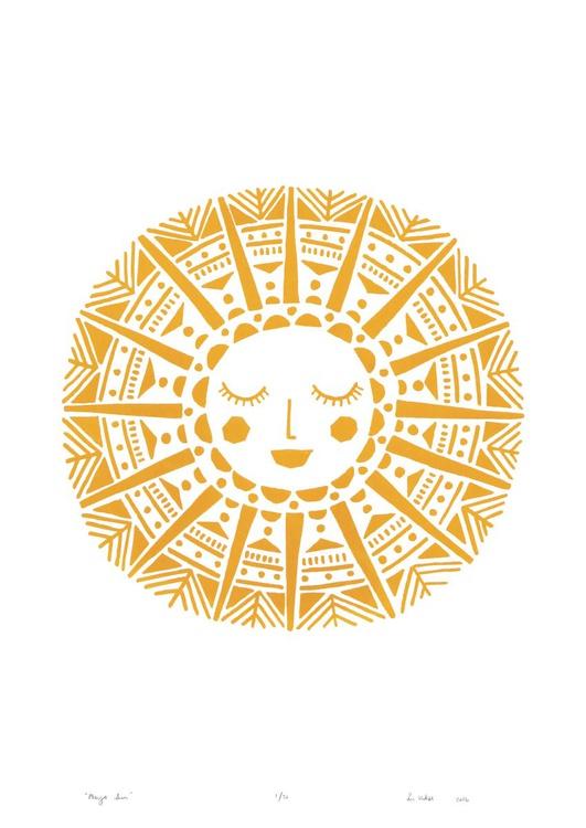 Maya Sun - Unframed - FREE Worldwide Delivery - Image 0