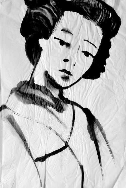Geisha Looking - Image 0