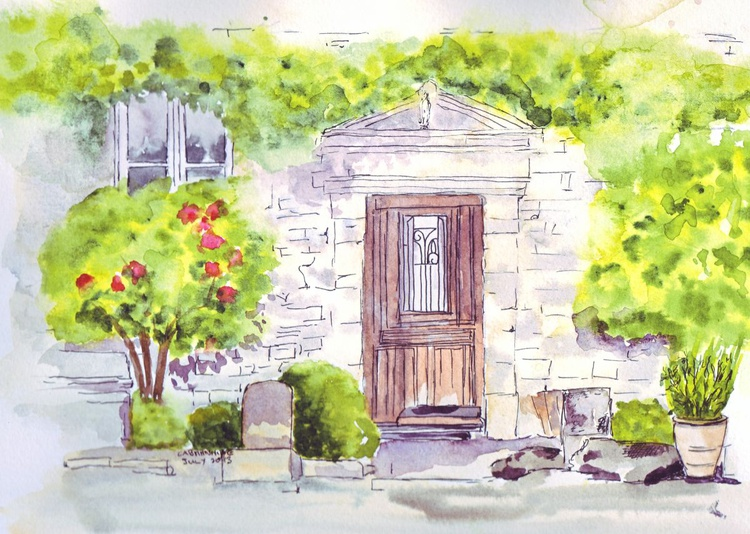 Images of France - Doorway in Brittany - Image 0