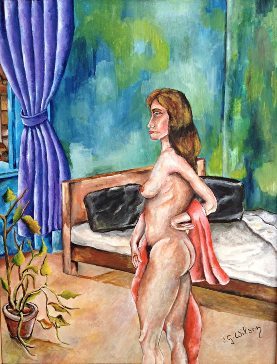 Woman in the room - Image 0