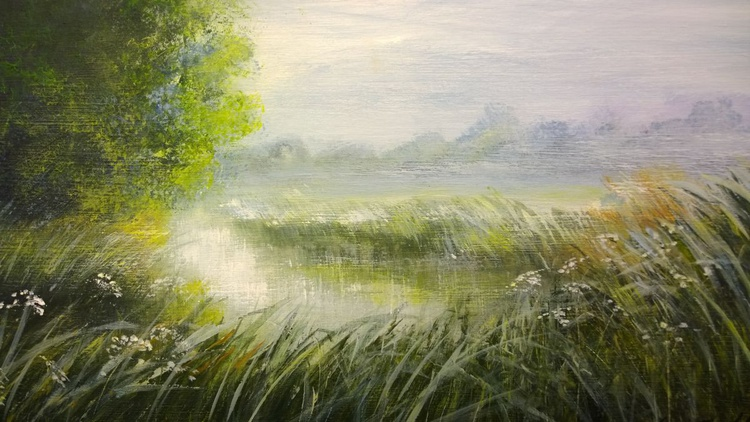 """""""MIST ON THE CANAL"""" - Image 0"""