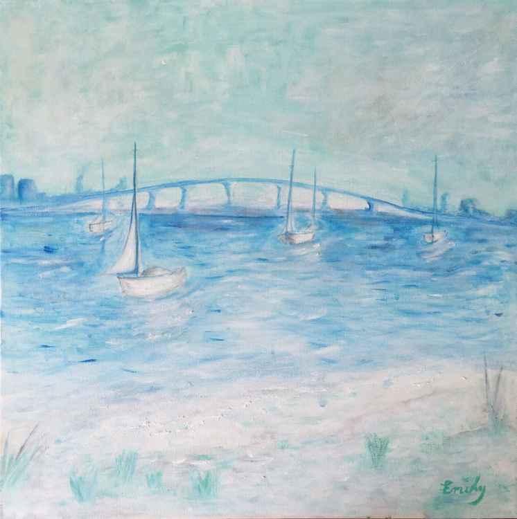 Across the Sarasota Bridge -