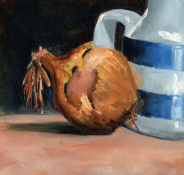 Onion and Cornish Jug -