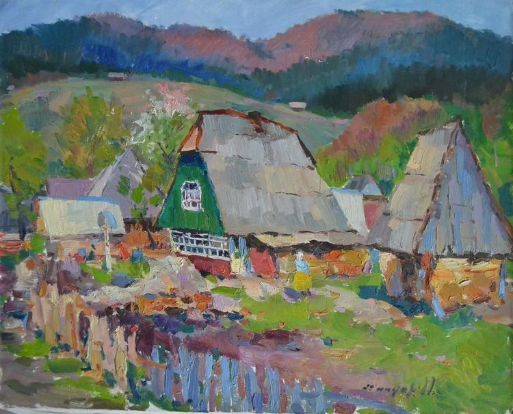 Village Synevyrska glade - Image 0