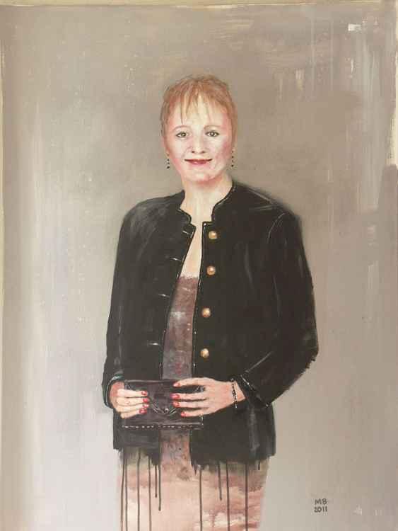 Helena in a Black Jacket