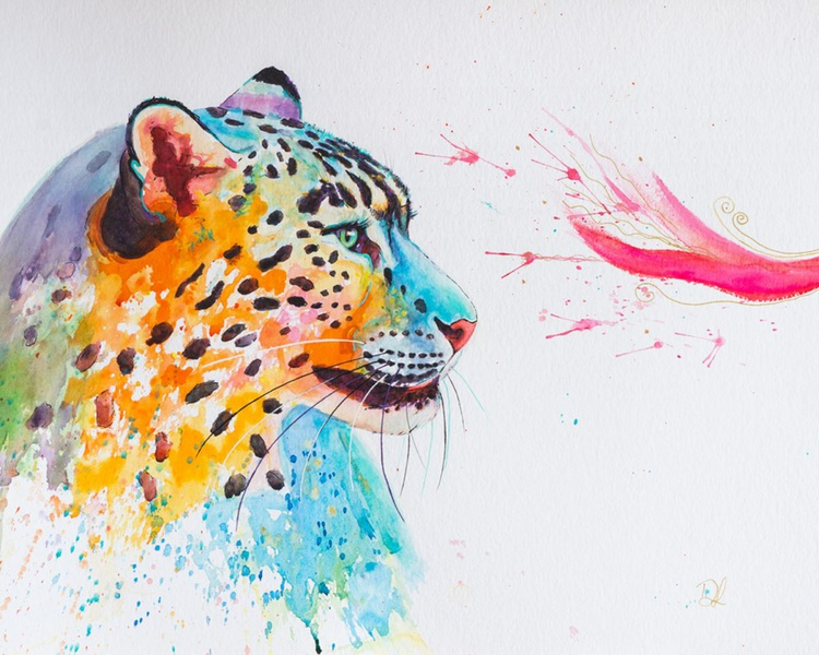 Colourful Snow Leopard - Image 0