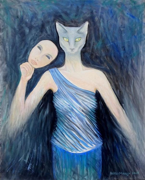 Women's Secrets - Ölbild 40 x 50 cm - Image 0