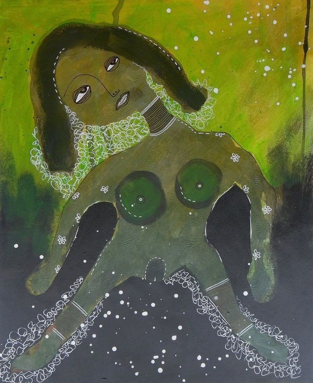 Green Lady - Image 0