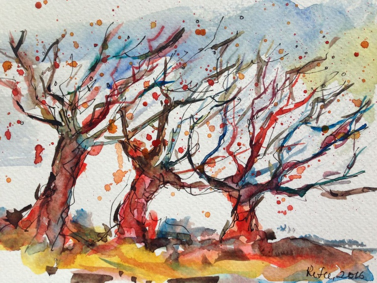 Trees in Autumn - Image 0