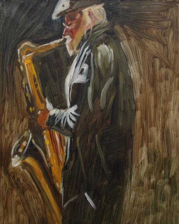 Sax player - Image 0