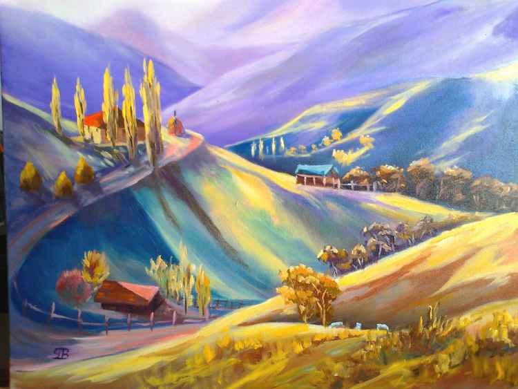 Moeciu landscape