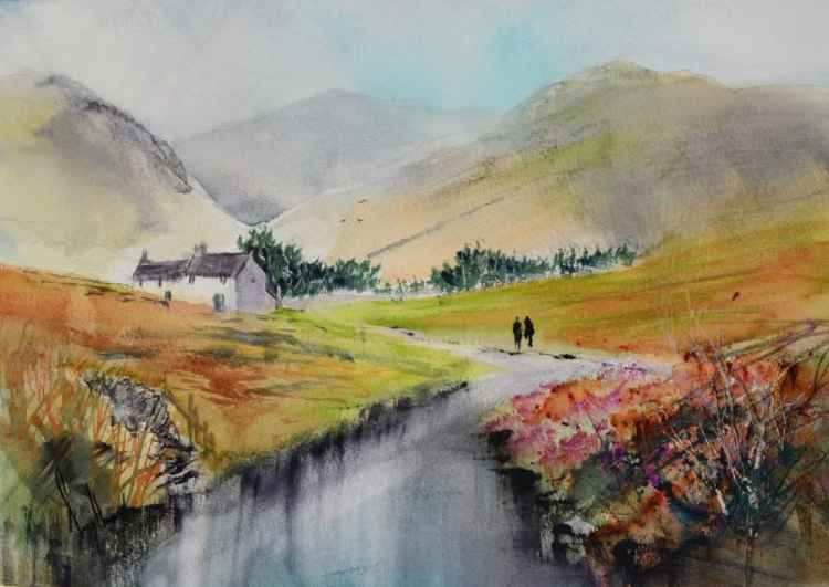 Beck Side - Original Watercolour Painting
