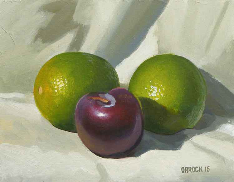 Limes and plum