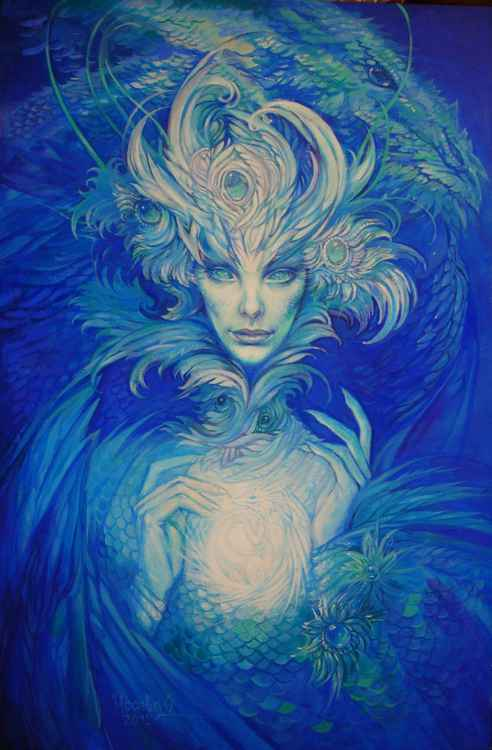 Iced dragoness -