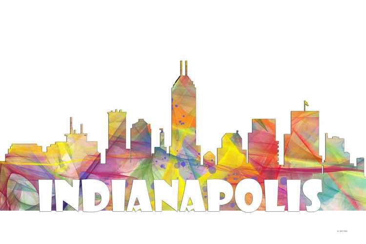 Indianapolis Skyline MCLR2