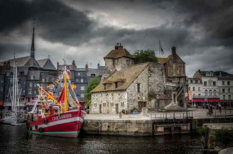 Honfleur, the harbour -