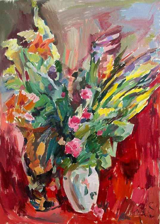 Field of flowers -