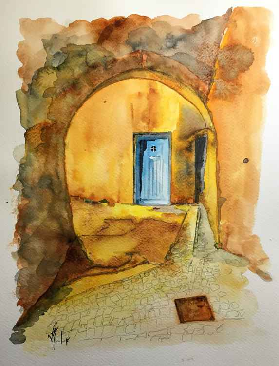 Magic Blue Door -