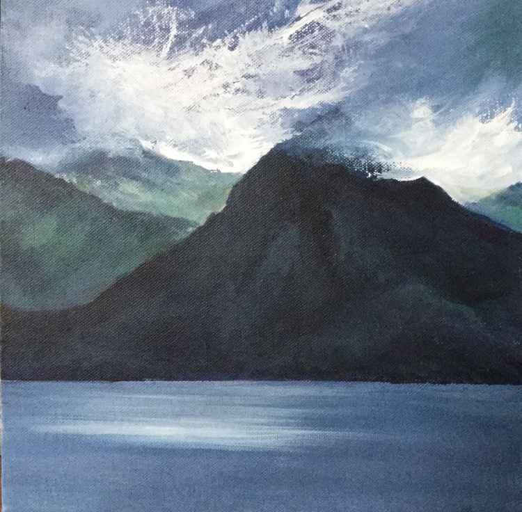 Wild sky over the Cullins -Isle of Skye
