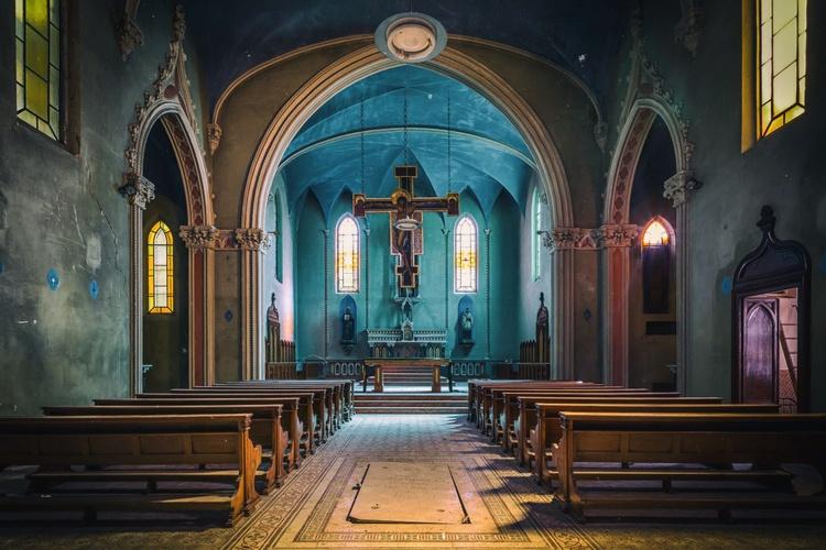The Blue Chapel - Medium - Image 0