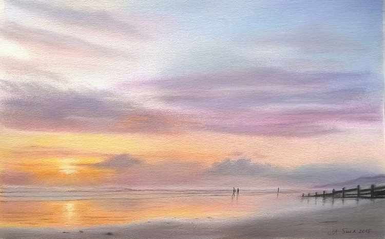 Evening, Cardigan Bay - Image 0