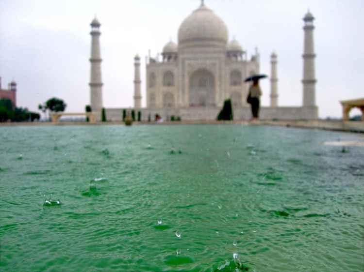 TAJ MAHAL IN THE RAIN – AGRA, INDIA