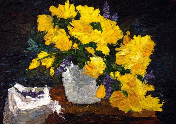 """Yellow flowers"" - Image 0"