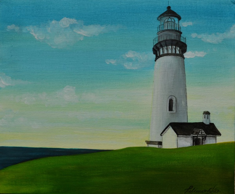 Lighthouse at dawn - Image 0