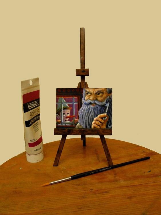 IMPRISONED - Mini Painting - - Image 0