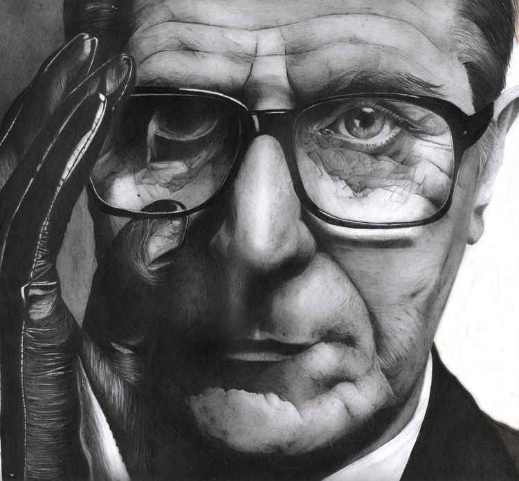 Gary Oldman pencil portrait