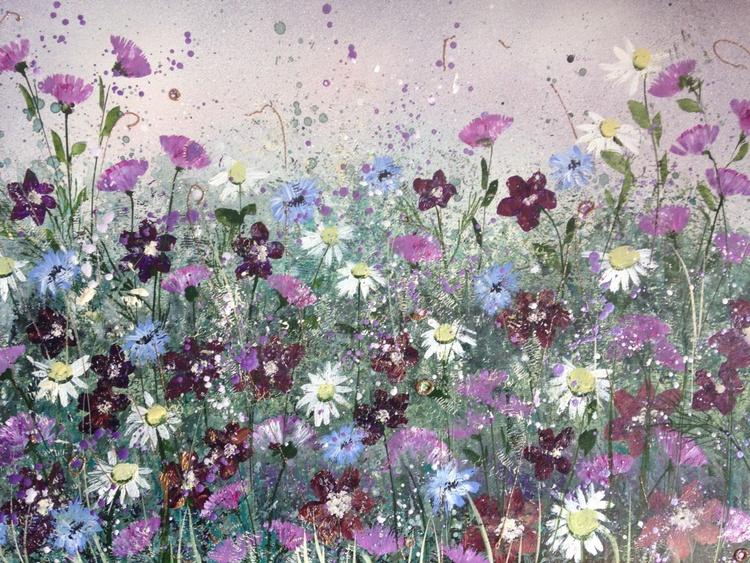 Dreamy meadow flowers - Image 0