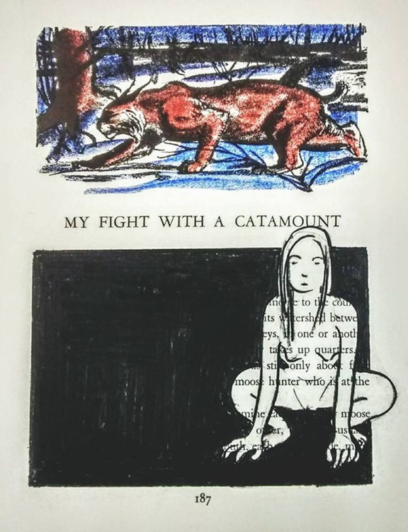 My Fight with a Catamount - Image 0