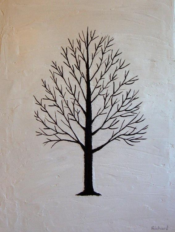 Black and brown tree - Image 0
