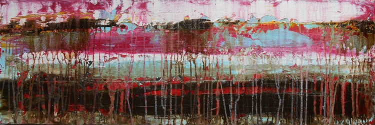 """Intuitive Incoherence - 12X36"""" - READY-TO-HANG - Image 0"""