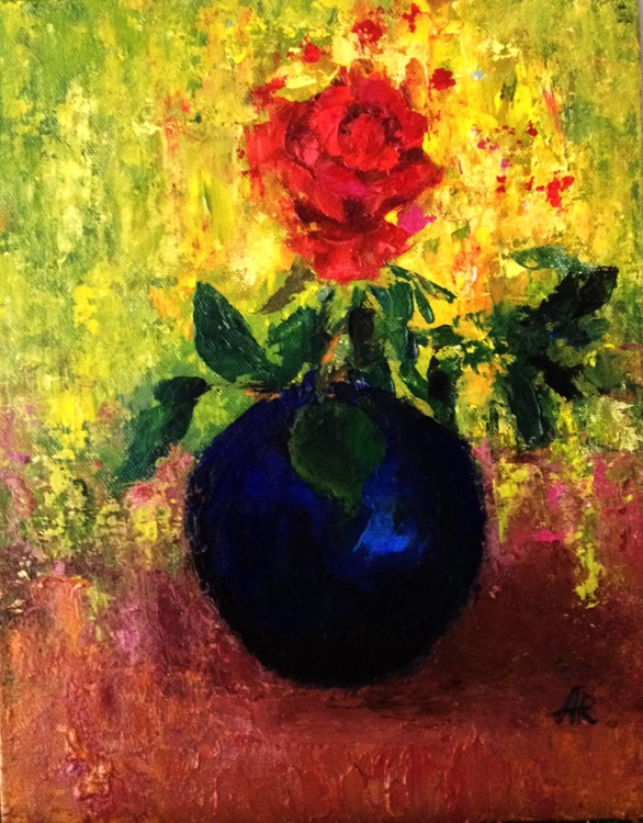 Still life with rose 3 - Image 0
